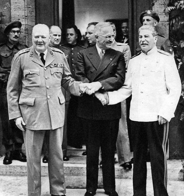 25+ best ideas about Potsdam conference on Pinterest | Ww2 leaders ...