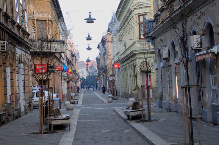 arad romania   Street Arad, Romania