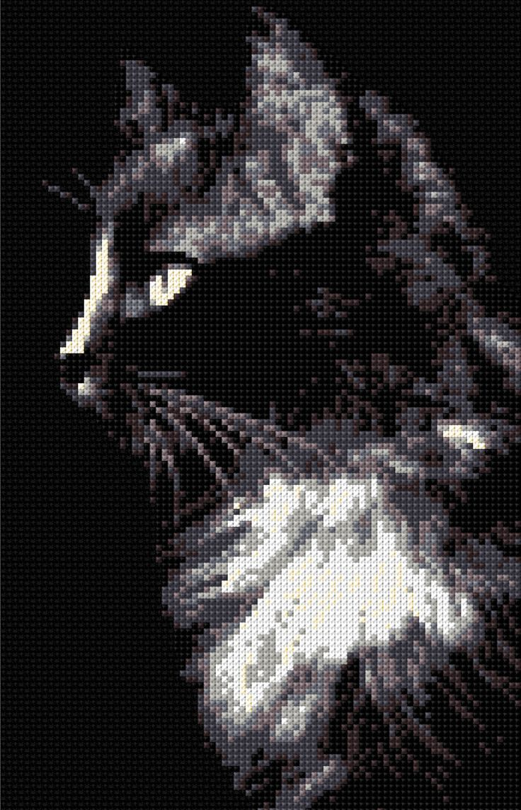 Black Cat Cross Stitch