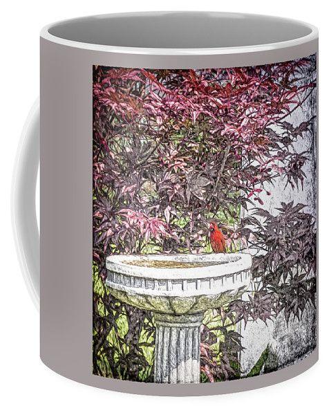 A Refreshing Interlude Coffee Mug by Leslie Montgomery.  Small (11 oz.)