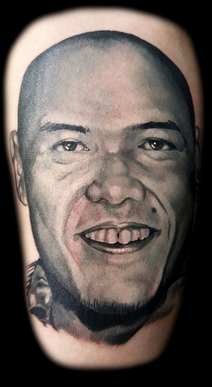 Portrait Tattoo by Steve Thrasher at Inner Visions Tattoo Shops Las Vegas