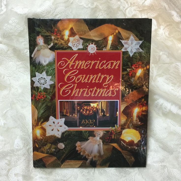 Vintage Christmas Craft Ideas Part - 42: American Country Christmas 1992 Christmas Craft And Recipe Ideas Holiday  Craft Ideas