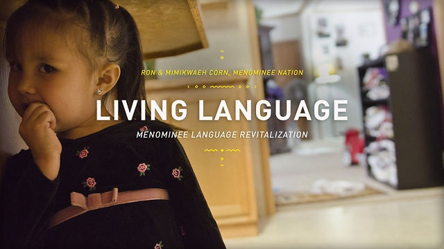 Living Language shares Ron Corn Jr.'s attempt to teach his daughter, Mimikwaeh, to be a first language speaker of the Menominee language. This video is part of The Ways, an ongoing series of stories on culture and language from Native communities around the central Great Lakes. More at theways.org Follow us: facebook.com/thewaysorg  twitter.com/thewaysorg Finn Ryan - Producer, Director David Nevala - Video, Editing, Photography Dan Venne - Music A Production of Wisconsin Media Lab