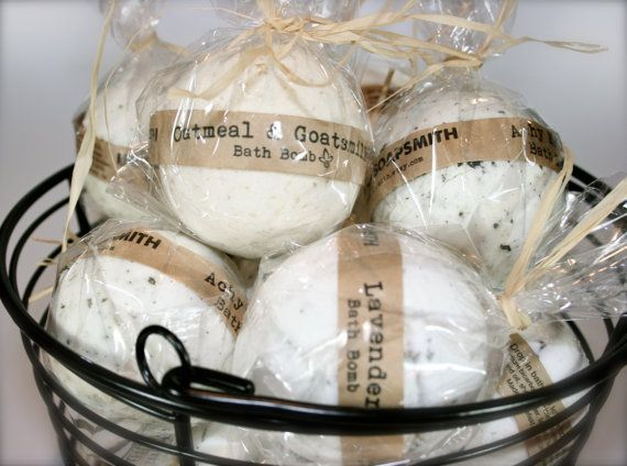 6 Bath Bombs Aromatherapy Bath Bomb All Natural by UrbanSoapsmith