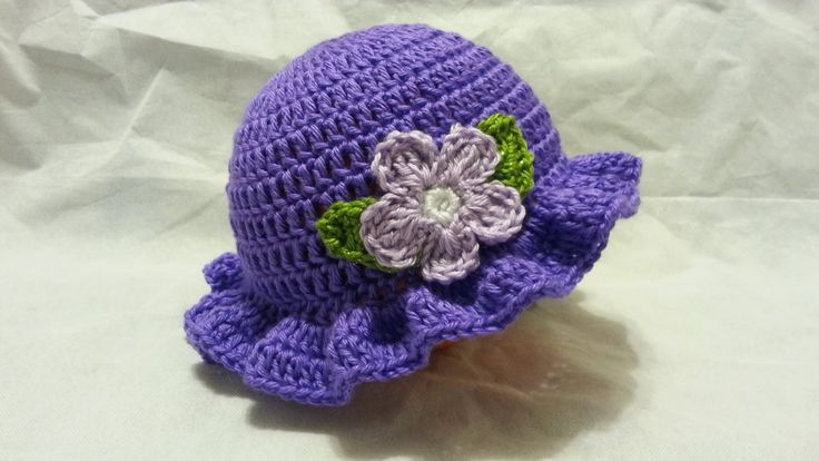 Crochet Easy Young Ladies Spring Time Hat Tutorial Hd