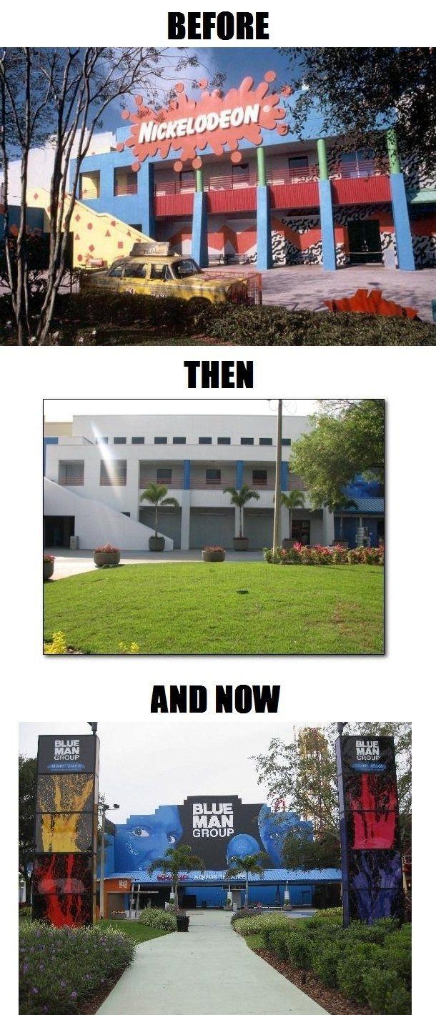 The Sad Sad History Of Nickelodeon Studios