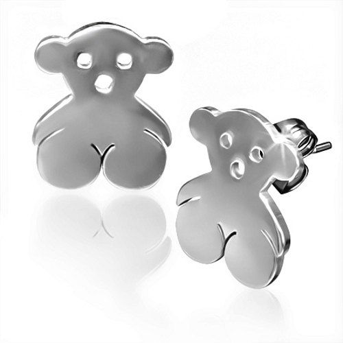 $15....Hey, I found this really awesome Etsy listing at https://www.etsy.com/listing/216885651/stainless-steel-silver-toned-cute-teddy