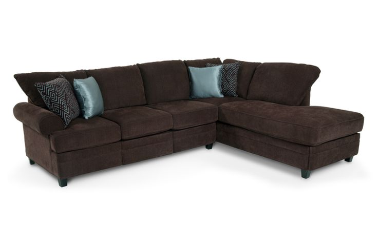 Sectional sofas bobs furniture rug sectional couches for Bobs furniture chaise