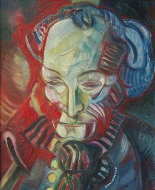 Antonin Artaud (French, 1896-1948) - Self-portrait