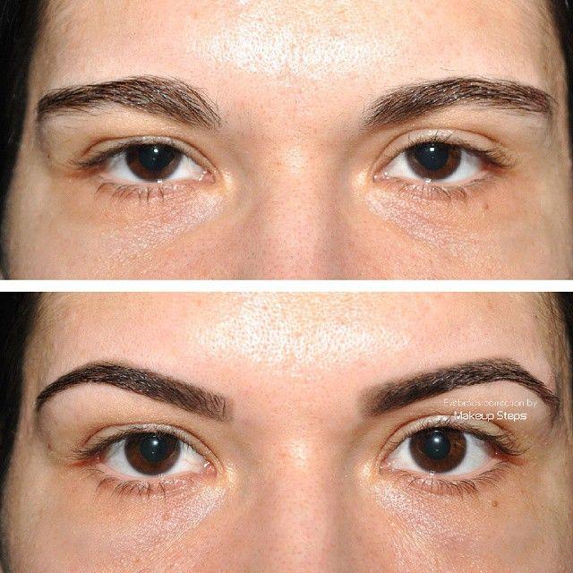 Eyebrows correction. When nothing is impossible! #perfecteyebrows  #eyebrowscorrection #beauty #eyebrows #perfectshape #correcting #makeupsteps #dadamakeupsteps #darkeyebrows #tweezing #eyebrow #brows #beautytime #makeup #eyes #mac #mua #natural #fleek #eyebrowshape #browneyes #waxing #eyebrowsonfleek
