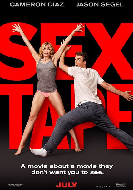 Sex Tape In Theaters July 18!Movie Posters, Full Movie, Camerondiaz, Jasonsegel, Jason Segel, Cameron Diaz, Sextape, Sex Tape, Tape 2014