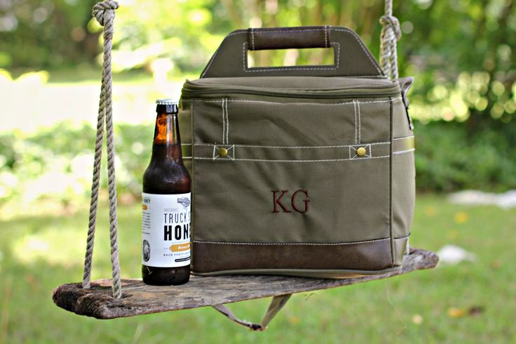 Personalized Groomsmen Insulated Cooler w/ Removable Beer Dividers – Beer Cooler Personalized – Insulated Beverage Bag – Groomsman Gift
