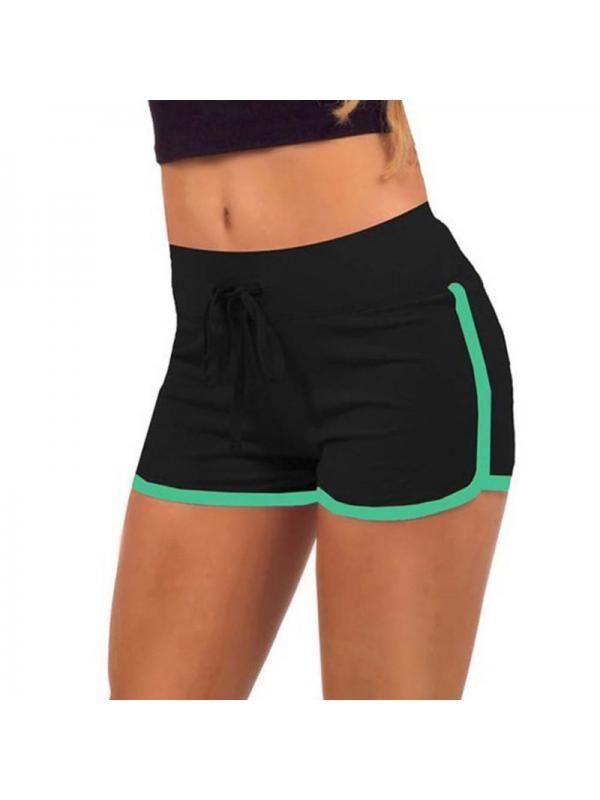 Damen kurze Hose Fitness Yoga High Waist Sommer Strand Pants Laufen Sport Shorts