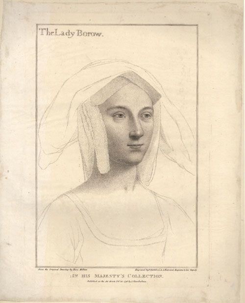 Hans Holbein - Lady Borow