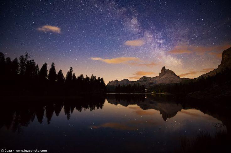Via Lattea sul Lago Federa - Foto scattata con α5100.  Sito Web: www.juzaphoto.com