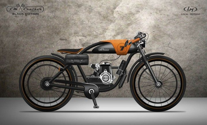 LM Cruiser by Nagabhushan Hegde http://www.carbodydesign.com/2013/07/lm-cruiser-bike-design-challenge-the-winners/