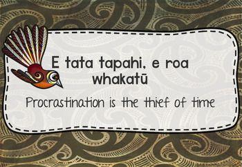 Maori Whakatauki , Maori Proverbs