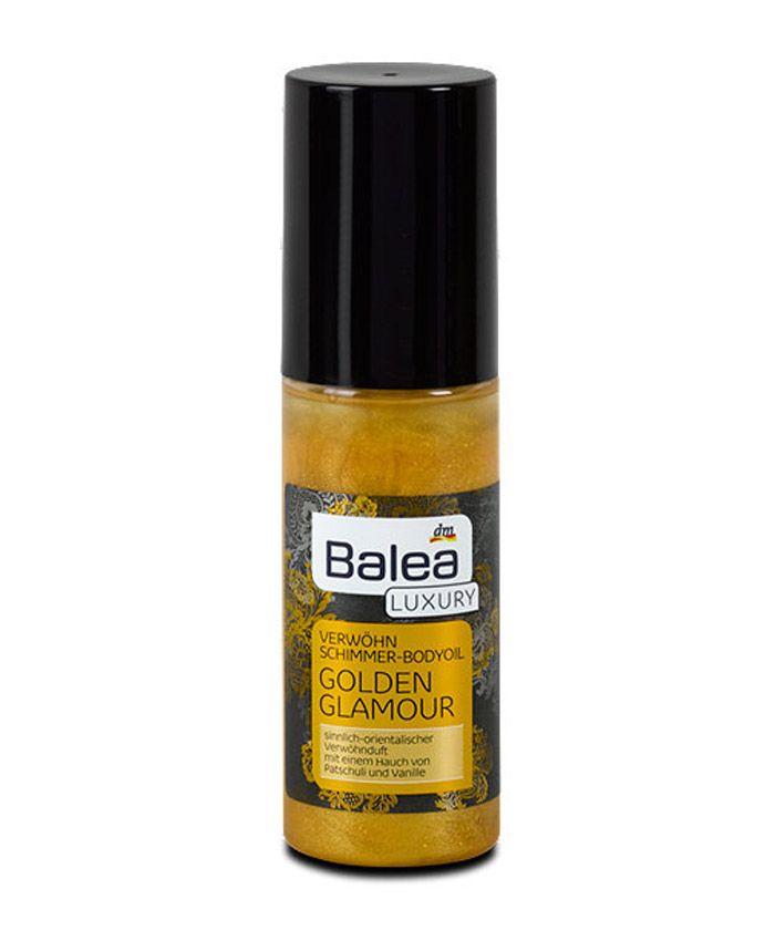 Масло для тела, обогащенное ценным миндальным маслом и витамином Е, нежно побалует вашу кожу. Увлажняет кожу, обладает приятным ароматом ванили и пачули и придает модный золотой блеск.