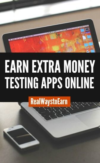 Earn extra money testing apps and doing usability testing online for a site called Testbirds. They are based in Europe, but accept testers worldwide.