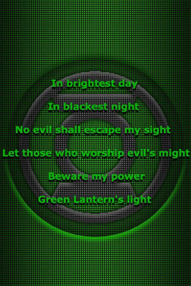 Green Lantern oath 3 by KalEl7 on DeviantArt