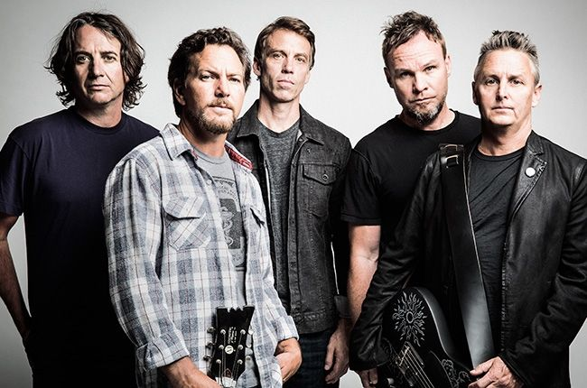 Pearl Jam Heading for Fifth No. 1 Album With 'Lightning Bolt'   Billboard
