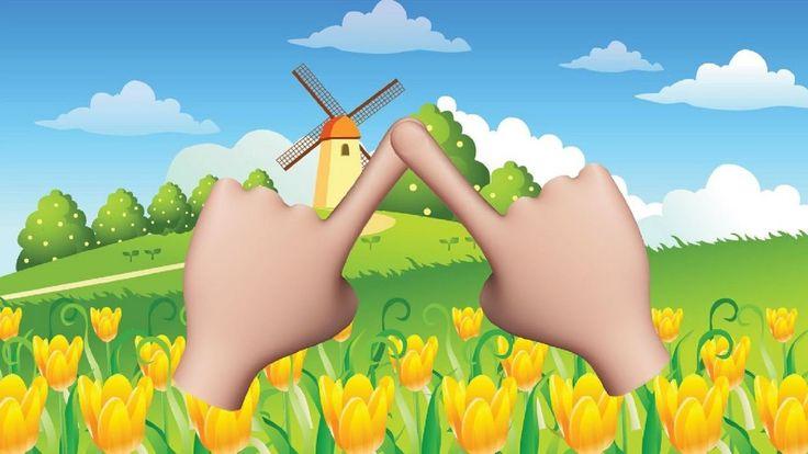 Dedo pulgar - Canción con el nombre de los dedos