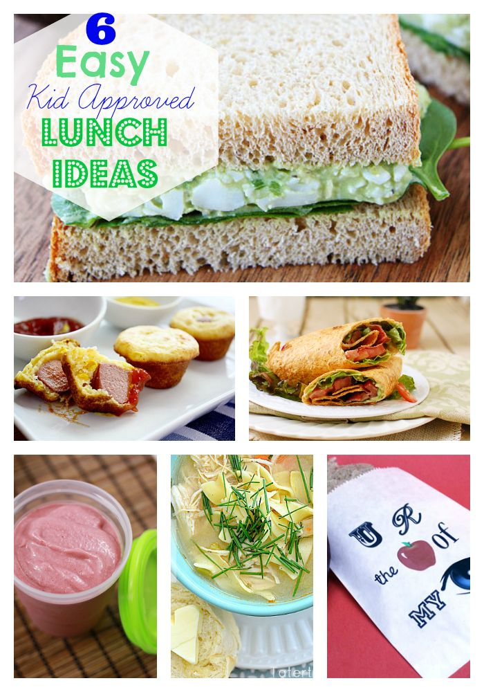 Kid Approved, Kid Friendly, School Lunch Ideas - Skip To My Lou