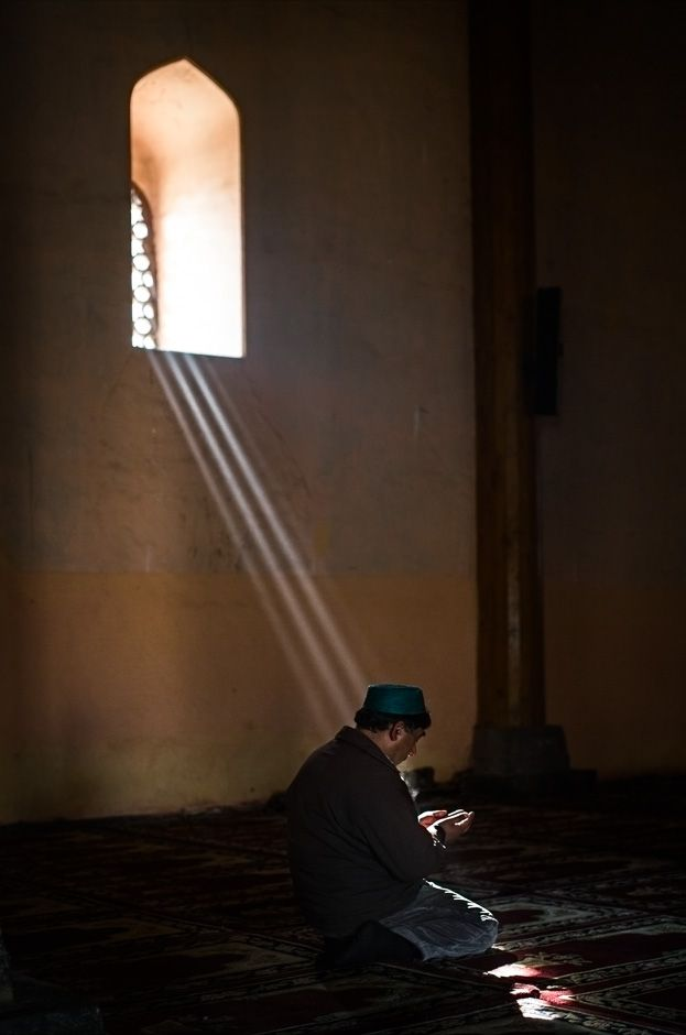 Morning Light at the Jammia Masjid, Srinagar, Kashmir