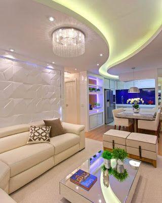 how to make a false ceiling design with lighting for living room rh pinterest com