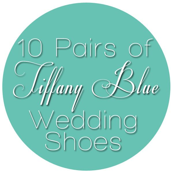 10 Pairs of Tiffany Blue Wedding Shoes | Shop Girl Daily