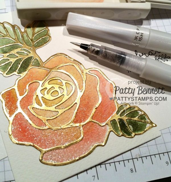 Easy Watercoloring with Wink of Stella Pens - Video Tutorial