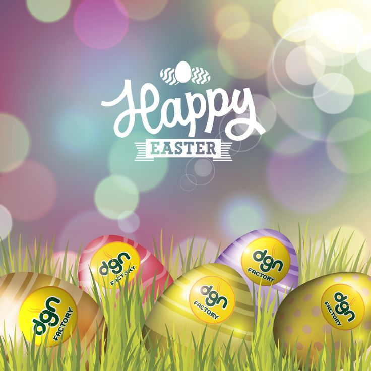 Happy Easter! All of us at dgn Factory hope you and your family had a great day!