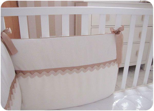 chichonera cuna DIY 10 Cómo hacer una chichonera para cuna de bebé   DIY