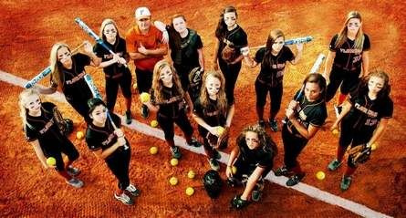 The Florida Gold 98 softball team of Winter Haven showed it belonged at the 14-