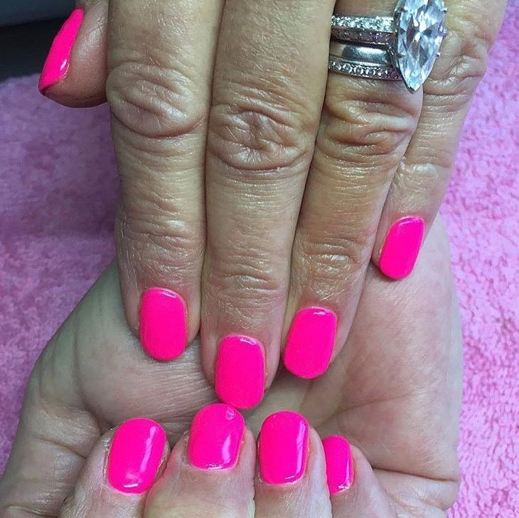 Summer Nails using Pro Stylegel's Mild Case of Amnesia by @jstrawberrytips