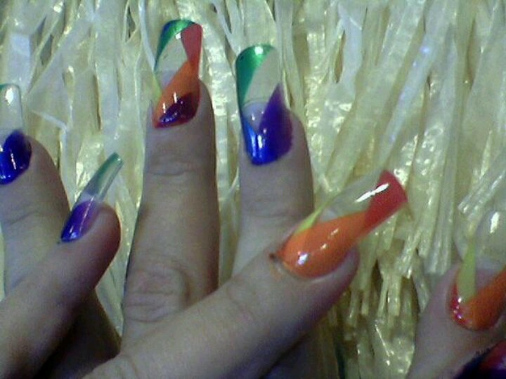 50 best Clear nails images on Pinterest | Nail scissors, Beleza and ...
