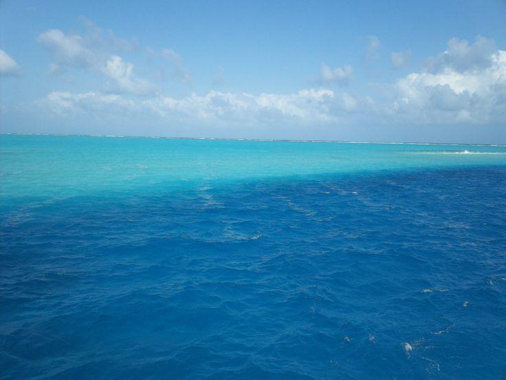 El mar de los 7 colores.