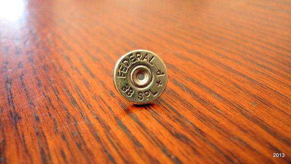 Mens Single Bullet Earring Stud Post 38 by BellaDonnaJewelryCo, $7.50