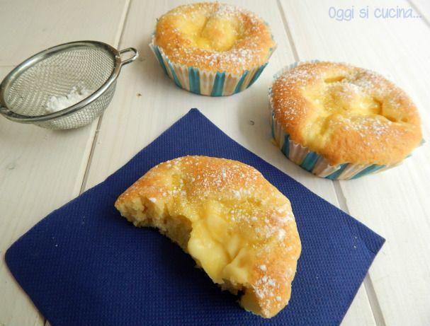 Le tortine nua sono una versione monoporzione della famosissima torta che spopola sul web, una base soffice e un interno cremoso, ottime per merenda.