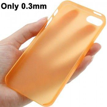 0.3mm Ultra Thin Polycarbonate TPU iPhone 5 & 5s Case - Orange