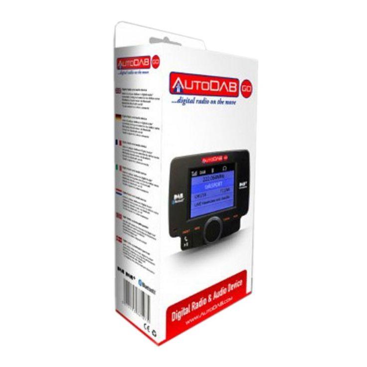 AutoDAB-GO in-Car DAB Digital Car Radio Receiver