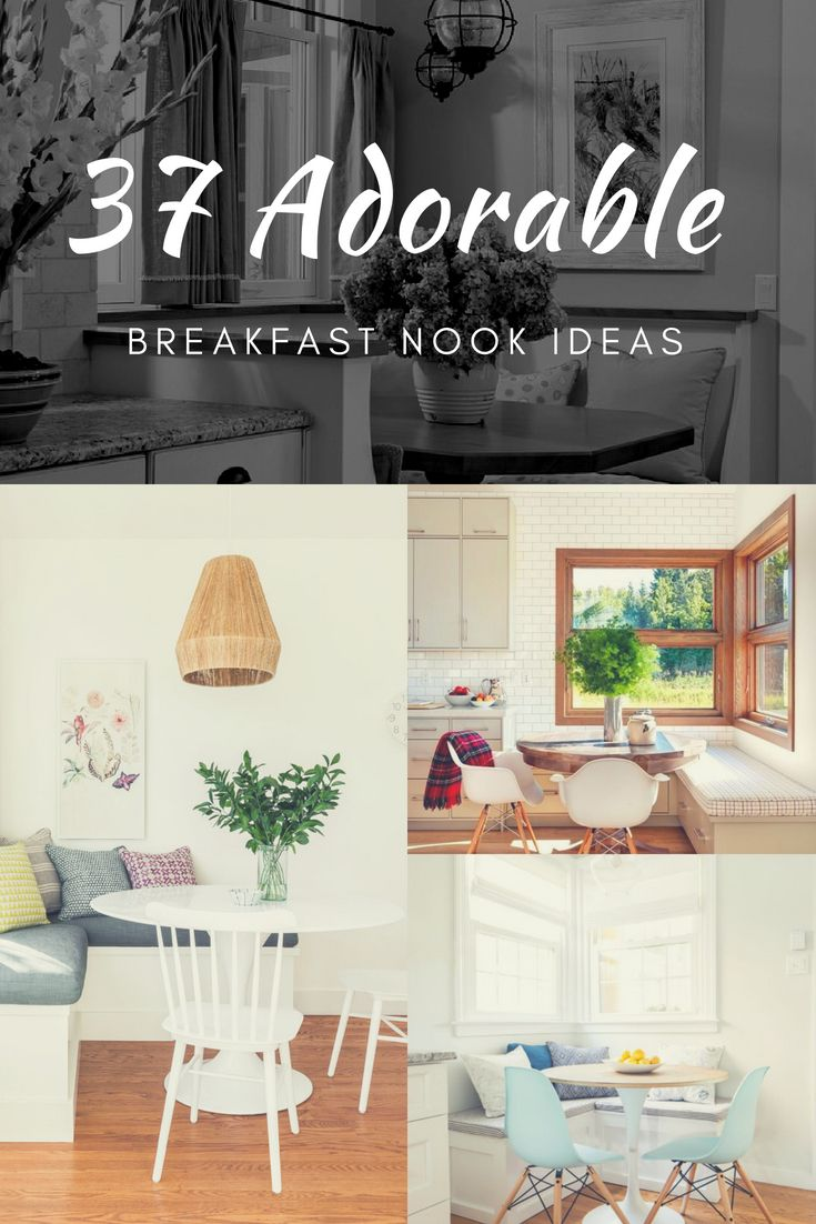 37 cozy breakfast nook ideas you ll want in home kitchen rh pinterest com