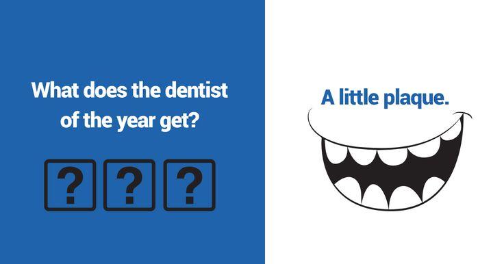 Hahahha! #haha #funny #joke #pun #punny #puns #dentist #plaque #plaques #award #smile #hilarious #fun