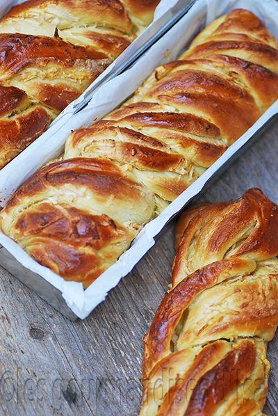Les gourmandises d'Isa: BRIOCHE DU BOULANGER AUX POMMES                                                                                                                                                     Plus