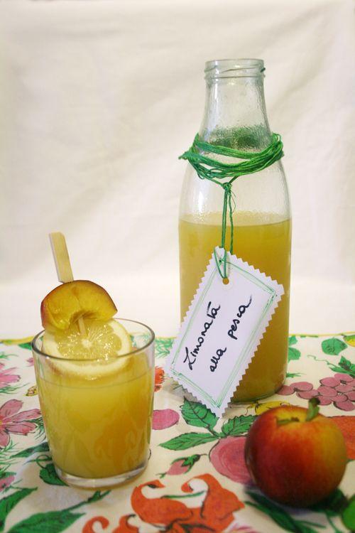 Peach lemonade / limonata alla pesca - #chezbetulì