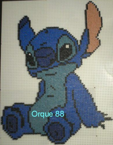 Lilo & Stitch hama perler beads by marmotte88130