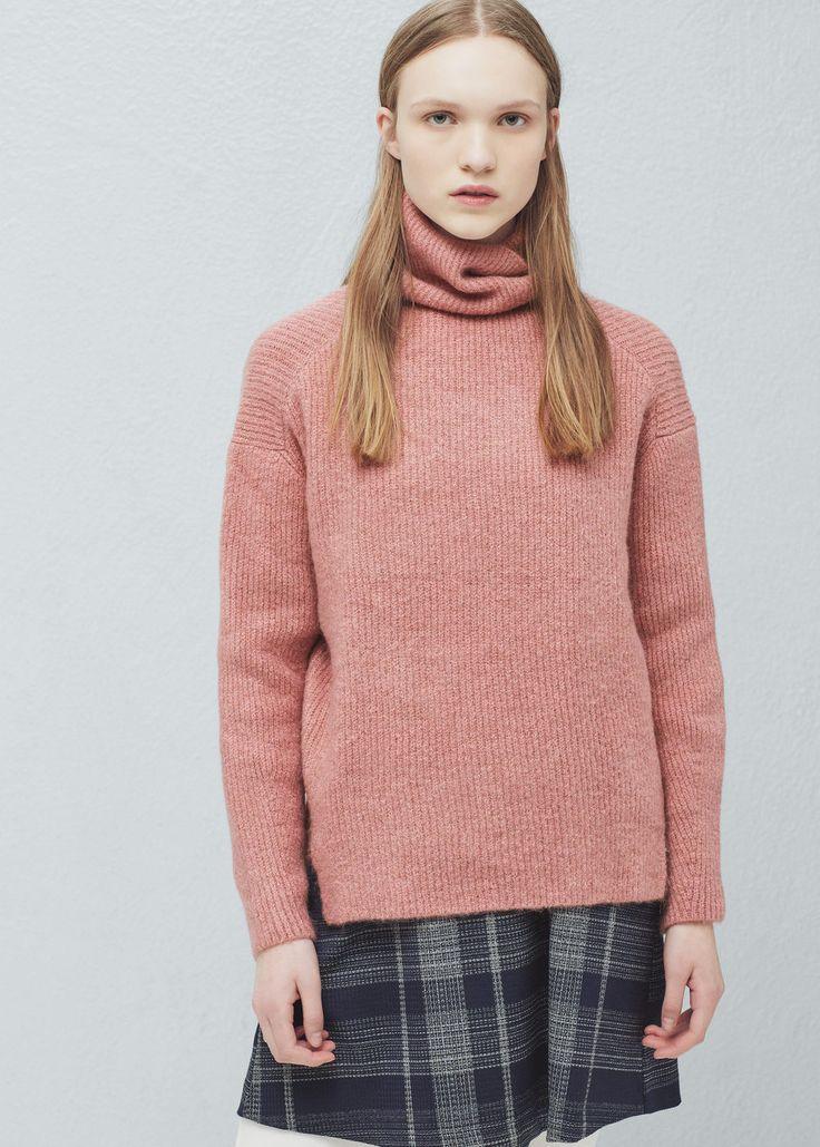 Rollkragenpullover - Cardigans und pullover für Damen | MANGO