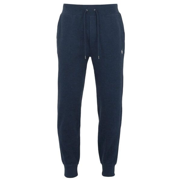 Polo Ralph Lauren Men's Rib Sweatpants - Winter French Navy ($150) ❤ liked on Polyvore featuring men's fashion, men's clothing, men's activewear, men's activewear pants, navy, mens activewear, mens sweatpants, mens sweat pants, mens activewear pants and mens slim fit sweatpants