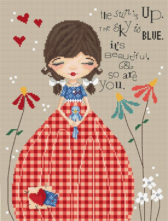 Lena Lawson Counted Cross Stitch Chart So Are You by by DUDADAZE