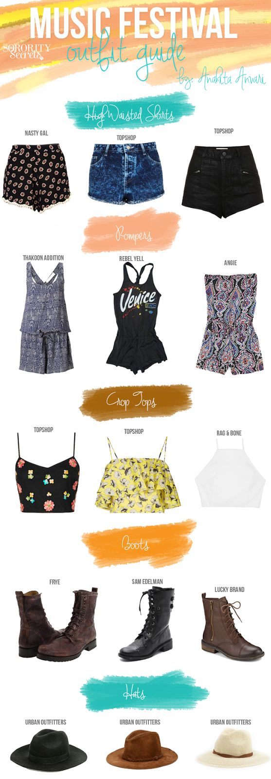 Music Festival Outfit Guide